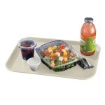 Cambro 1216FF106 - Fast Food Tray, Textured, Light Peach (Case of 24)