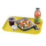 Cambro 1014FF108 - Fast Food Tray, Textured, Primrose (Case of 24)