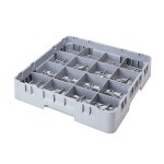 Cambro 16C258151 - Cup Rack, Full Size, Soft Gray (Case of 6)