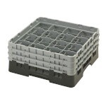 Cambro 16S638110 - Glass Rack with 3 Extenders (Case of 3)