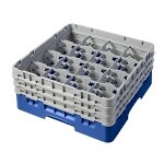 Cambro 16S638168 - Glass Rack, with 3 Extenders, Full Size (Case of 3)