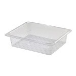 Cambro 23CLRCW135 - Colander, Clear, fits 1/2 Size Pans (Case of 6)