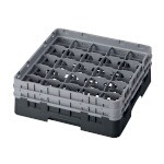 Cambro 25S434110 - Glass Rack with 2 Extenders (Case of 4)