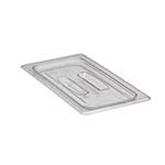 Cambro 30CWCH135 - Food Pan Cover, 1/3 Size, with Handle, Clear