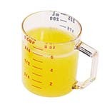 Cambro 25MCCW135 - Measuring Cup, 1 cup, dry measure, Clear