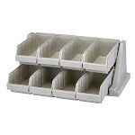 Cambro 8RS8480 - Organizer Rack, Speckled Gray