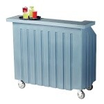 Cambro BAR540401 - Portable Bar, 54 inch, Slate Blue