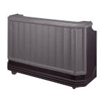 Cambro BAR730DX420 - Cambar Portable Bar, Granite Gray with Black Base