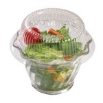 Cambro CLSRB5152 - Camwear Disposable Lid, Clear (1000 per Case)