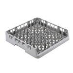 Cambro OETR314151 - Dishwasher Rack, Open End, Soft Gray (Case of 6)