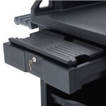 Cambro CAMBVCS32KEYT110 - Versa Cart Keyboard Tray, Black