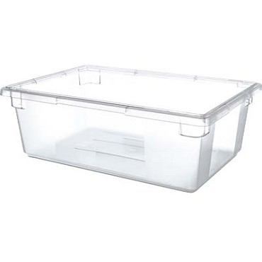 "Carlisle 1062207 - StorPlus Food Storage Box, 13 gallon, 26"" L x 18""W x 9""H, stackable, clear, (Case of 4)"