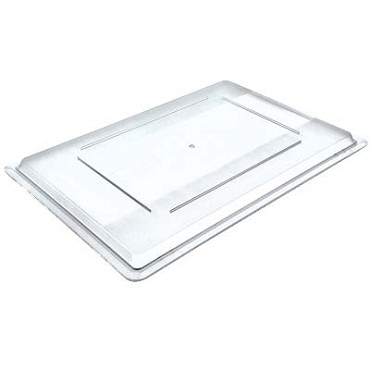 "Carlisle 1062707 - StorPlus Food Storage Lid, 26""L x 18""W, lock-tight, stackable, clear, (Case of 6)"
