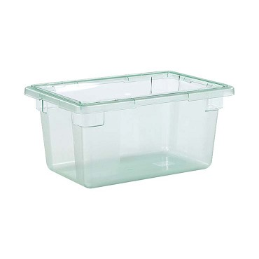 "Carlisle 10612C09 - Food Storage Box, 5 gallon, 18"" L x 12""W x 9""H, green, (Case of 6)"
