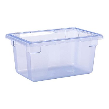 "Carlisle 10612C14 - Food Storage Box, 5 gallon, 18"" L x 12""W x 9""H, blue, (Case of 6)"