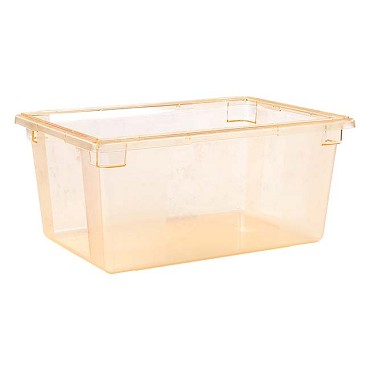 "Carlisle 10623C22 - Food Storage Box, 16.6 gallon, 26"" L x 18""W x 12""H, yellow, (Case of 3)"