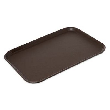 "Carlisle 1826GR2Q076 - Griptite Serving Tray, 25-3/4"" L x 18""W, rectangular, tan, (Case of 6)"