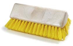 "Carlisle 4042304 - Sparta Hi-Lo Floor Brush, 10"", (handle NOT included), yellow. W"