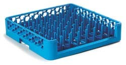 Carlisle ROP14 - OptiClean Dishwasher Plate/Tray Peg Rack, full size, blue, (Case of 6)