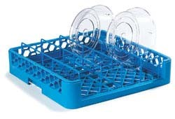 Carlisle RPC14 - OptiClean Dishwasher Plate Cover Rack, full-size, blue, (Case of 3)
