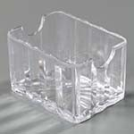 Carlisle 454907 - Crystalite Sugar Packet Caddy, 3