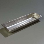 Carlisle 60700HL2 - DuraPan Steam Table Pan, 1/2 long-size, 3.3 qt., 3