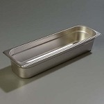 Carlisle 60700HL4 - DuraPan Steam Table Pan, 1/2 long-size, 6 qt., 4
