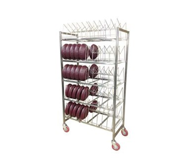 Carter-Hoffmann DMR80 - Dome Drying Rack; capacity 80 domes or 160 underliners
