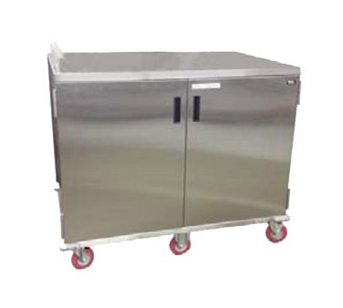 Carter-Hoffmann ETDTT24 - Tray Cart, stainless steel, single door