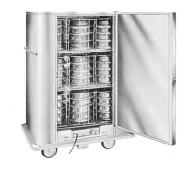 Carter-Hoffmann BB60 - Banquet Cabinet, mobile, insulated
