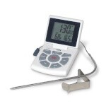 CDN DTTC-W - Combo Probe Thermometer, Timer & Clock