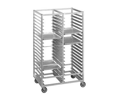 "Channel 421A - Cafeteria Tray Rack, mobile, 41""W x 26""D x 70"" H"
