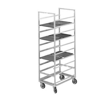 "Channel 447A - Cafeteria Tray Rack, mobile, 23""W x 30""D x 70"" H"