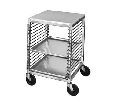 "Channel 567/P - Bun Pan Rack, with work top & wire slide, 31-1/2"" H"