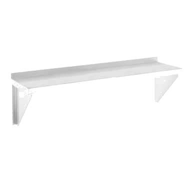 "Channel AWS1248 - Shelving, Wall, 48""W x 12"" D"