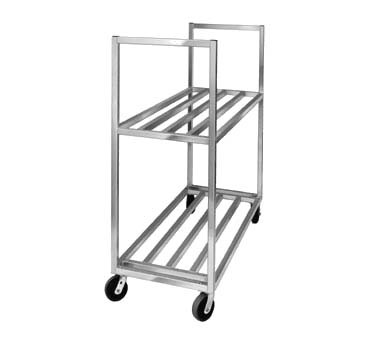"Channel BBT-4820-2 - Box Transport Truck, 48""W x 20""D x 67-1/2""H, 34"" distance between (2) shelves"