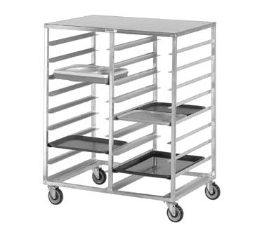 "Channel CTR1520 - Cafeteria Tray Rack, mobile, 44""W x 30""D x 54"" H"