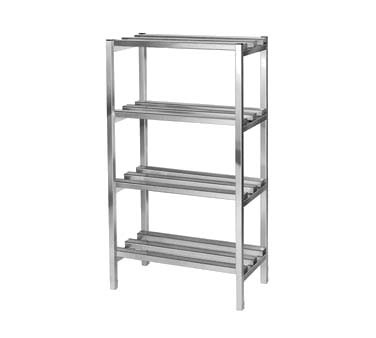 "Channel DR2072-4 - Dunnage Shelving Unit, 72""W x 20""D x 64""H, (4) shelves"