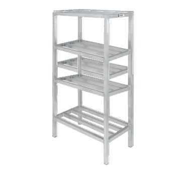 "Channel ED2442-4 - Dunnage Shelving Unit, tubular, 42""W x 24""D x 64"" H"
