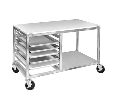 "Channel MW247/P - Bun Pan Rack, with work top, 31-1/2"" H"