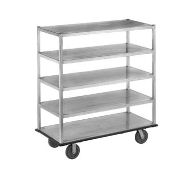 "Channel QMA2860-4 - Queen Mary Banquet Cart, 66""H, (4) shelves"