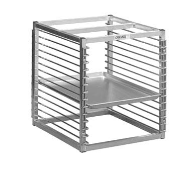 "Channel RIW-13 - Reach-In Rack, 20-1/2""W x 25""D x 23""H, welded 1"" extruded aluminum tubular frame"
