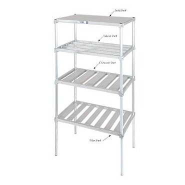 "Channel BA2436 - Shelf, T-bar, 36""W x 24"" D"