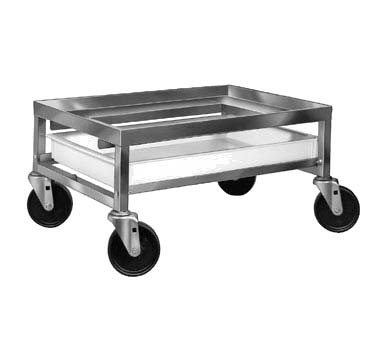 "Channel SPCD-S - Utility Poultry Crate Dolly, with drip pan, 12-1/2""H x 20""W x 27"" L"
