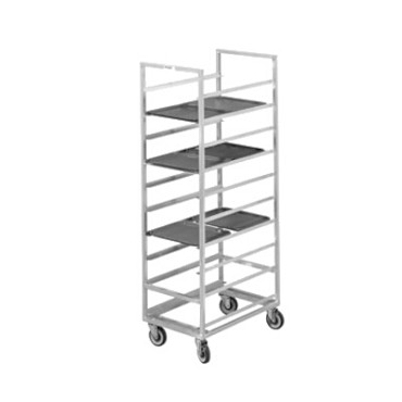 "Channel 446A - Cafeteria Tray Rack, mobile, 23""W x 30""D x 70"" H"