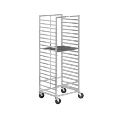 "Channel 550A - Donut Screen Rack, mobile, 35-1/2""W x 23-1/4""D x 70-3/8"" H"
