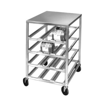 "Channel CSR-3 - Can Storage Rack, mobile, 34"" H"