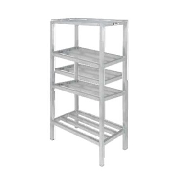 "Channel ED2036-4 - Dunnage Shelving Unit, tubular, 36""W x 20""D x 64"" H"