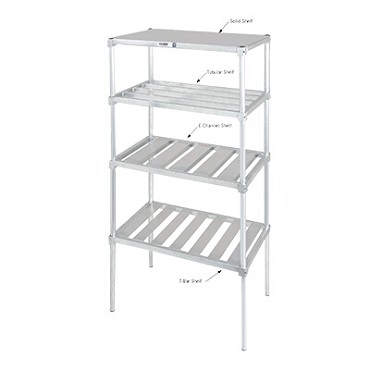 "Channel TA2448 - Shelf, tubular, 48""W x 24"" D"