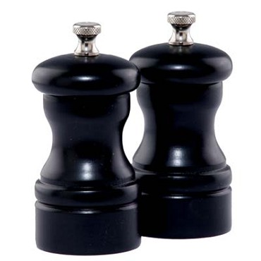 "Chef Specialties 04502 - Salt Mill/Pepper Mill Set, 4"" high"